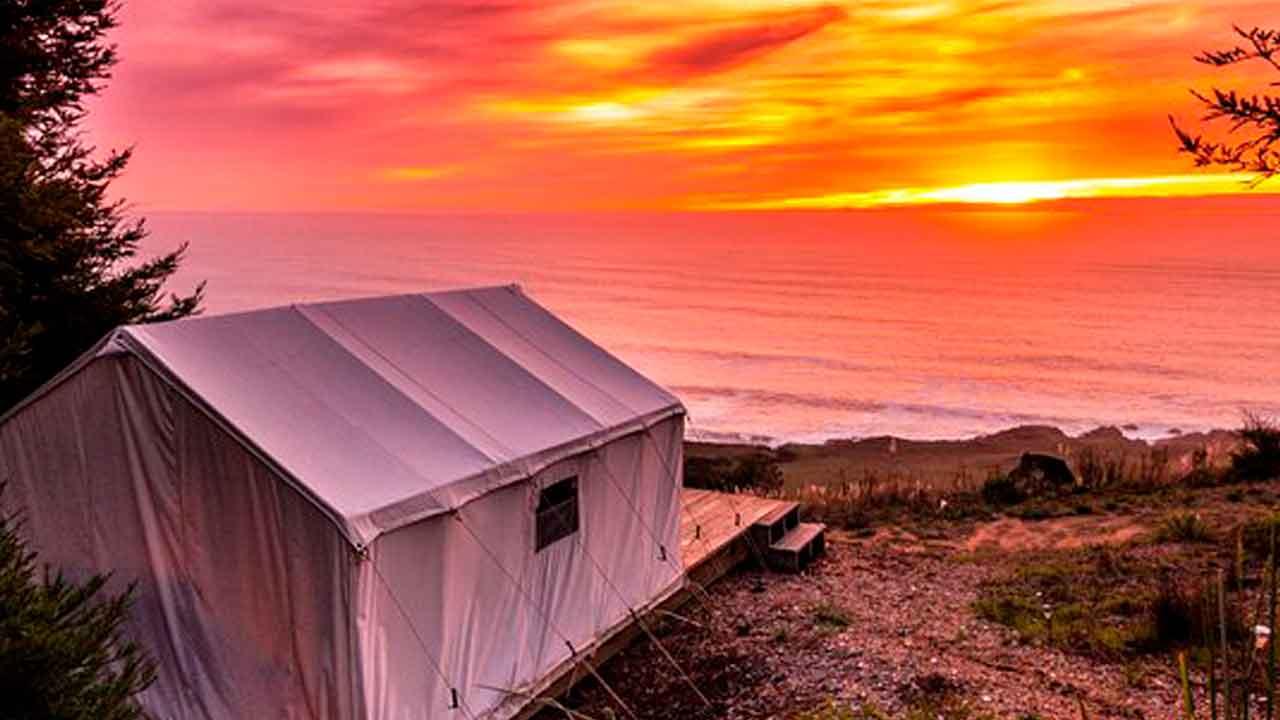 Terra glamping Sonoma Coast Cabin
