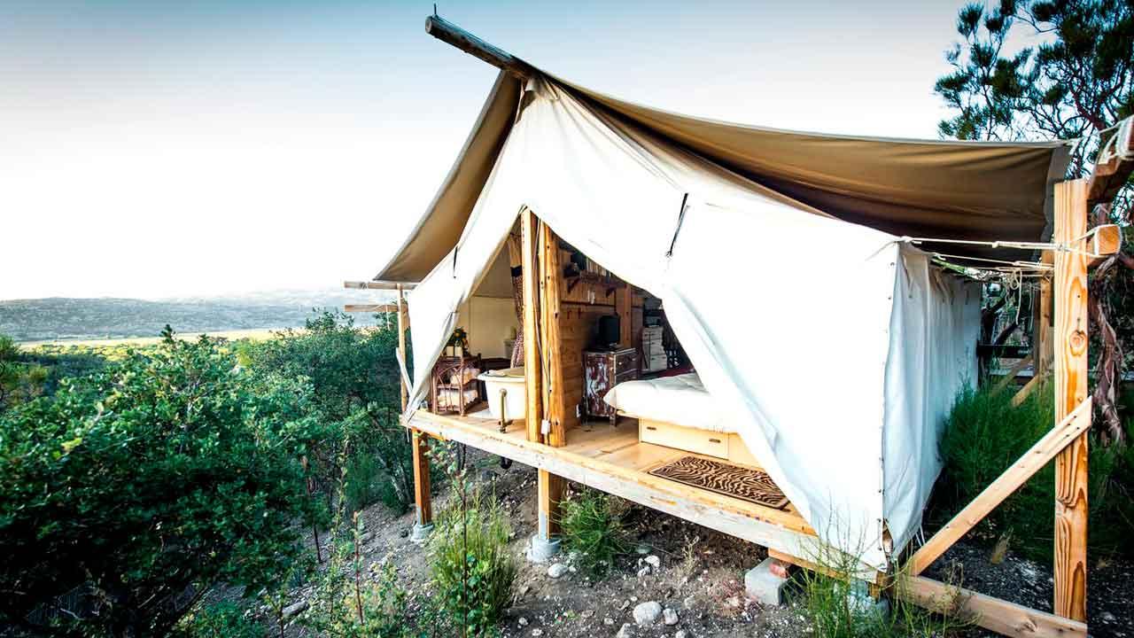 Safari Cabin Tents At Warner Springs