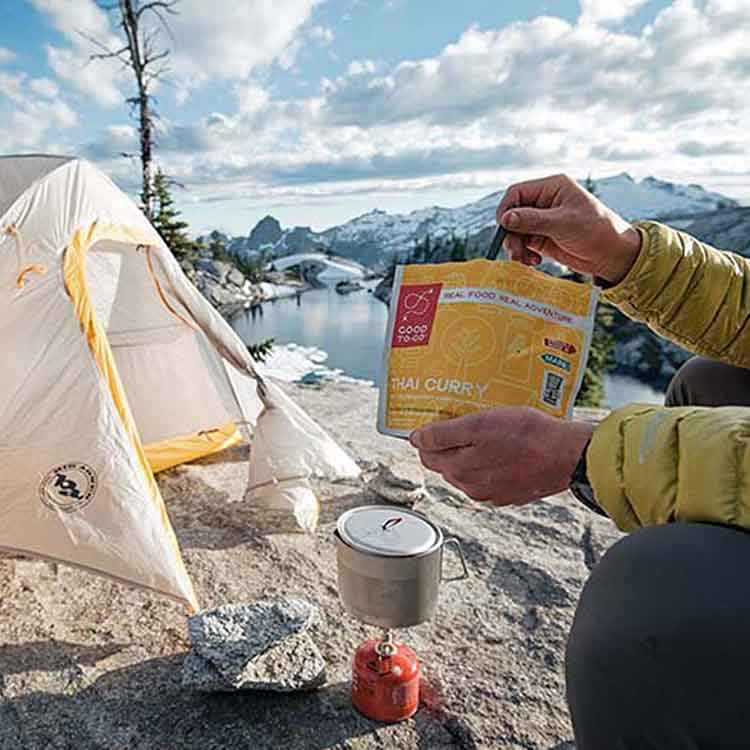 freeze dried meals camping