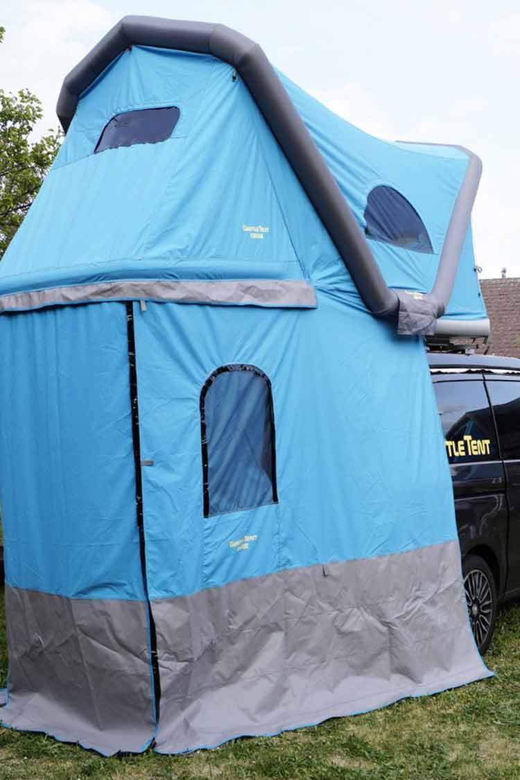 blow up roof top tent