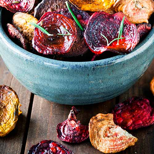 beet root chips camping