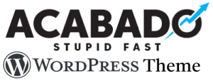 acabado and wordpress theme logo download