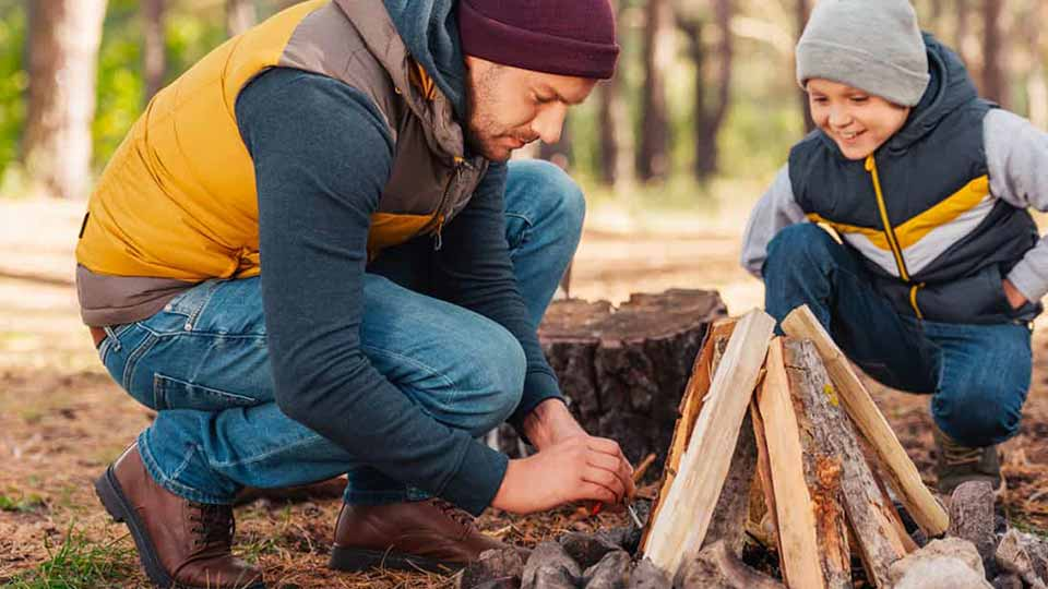 what type of firewood should I use for camping